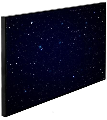 Soled - aseton świetlny z gwiezdnym niebem i wyklejoną grafiką ? producent SOLED